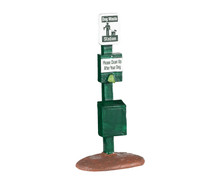 04731 - Dog Park Station - Lemax Misc. Accessories
