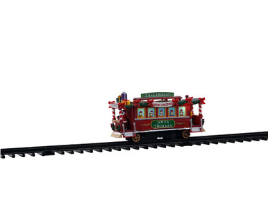 04738 - Jolly Trolley, Battery-Operated (4.5-Volt) - Lemax Trains & Vehicles