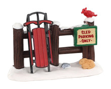 04740 - Sled Parking Only - Lemax Misc. Accessories