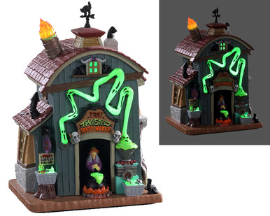 05607 - Terribly Twisted, with 4.5-volt Adaptor (AA) - Lemax Spooky Town Houses