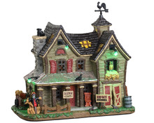 05608 - Frightmore Farm, with 4.5-volt Adaptor (AA) - Lemax Spooky Town Houses
