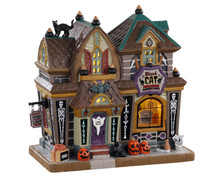 05610 - Black Cat Halloween Décor - Lemax Spooky Town Houses