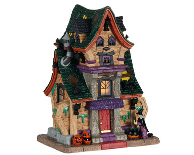 05613 - Wanda's Wicked Home - Lemax Spooky Town Houses