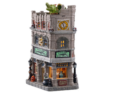 05615 - Dragon's Lair Potions & Spells - Lemax Spooky Town Houses
