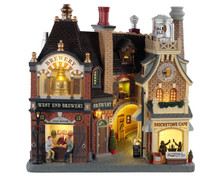 05618 - Beersmith Row, Battery-Operated (4.5-Volt) - Lemax Facades