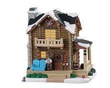05627 - Pop's Cabin - Lemax Vail Village