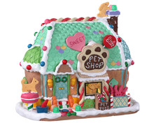 95528 - Sweet Little Pet Shop, Battery-Operated (4.5-Volt) - Lemax Sugar N Spice Houses