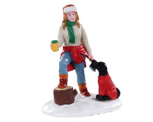 02965 - Lumberjill Sonia - Lemax Figurines