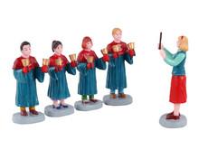 12020 - Handbell Choir, Set of 5 - Lemax Figurines