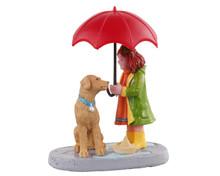 12023 - Umbrella Sharing - Lemax Figurines