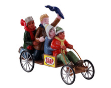 12031 - Go-Cart Racers - Lemax Figurines