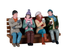 12040 - Coffee and Friends - Lemax Figurines
