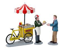 12042 - Taco Cart, Set of 3 - Lemax Figurines