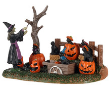 03505 - Frightful Feline Choir - Lemax Spooky Town Accessories