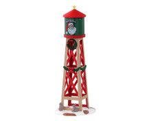 03526 - Rustic Water Tower - Lemax Spooky Town Accessories