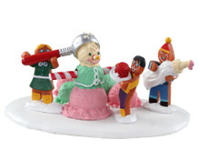 03532 - Triple Scoop Snowman - Lemax Sugar N Spice Accessories