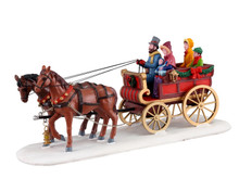 13562 - Carriage Cheer - Lemax Table Pieces
