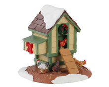 13564 - Christmas Coop - Lemax Table Pieces