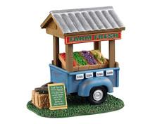 13565 - Farm Fresh Vegetable Trailer - Lemax Table Pieces