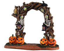 14826 - Horror Arch, Battery-Operated (4.5v) - Lemax Spooky Town Accessories