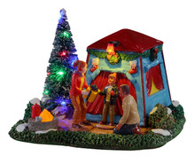 14840 - The Festive Outdoors, Battery-Operated (4.5v) - Lemax Table Pieces