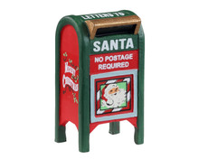 14842 - Christmas Mailbox - Lemax Misc. Accessories