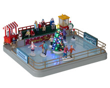 14871 - Outdoor Skating Rink, with 4.5v Adaptor - Lemax Table Pieces