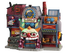 05603 - Hideous Harry's Toy Factory, with 4.5v Adaptor - Lemax Spooky Town Houses
