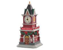 05679 - Tannenbaum Clock Tower, Battery-Operated (1.5v) - Lemax Caddington Village