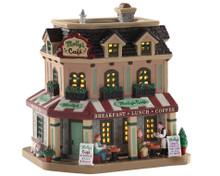 05687 - Molly's Corner Café - Lemax Caddington Village