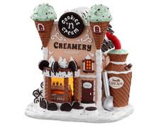 05699 - Cookies 'N Cream Creamery, Battery-Operated (4.5v) - Lemax Sugar N Spice Houses