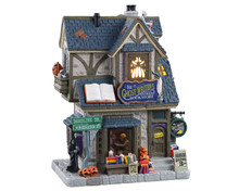 15729 - The Ghost Writer's Antique Bookstore - Lemax Spooky Town Houses
