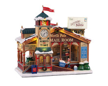 15733 - North Pole Mail Room, with 4.5v Adaptor - Lemax Caddington Village