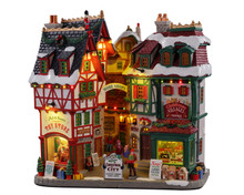 15739 - Christmas City, Battery-Operated (4.5v) - Lemax Facades