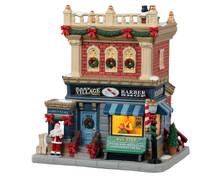 15771 - East Village Barber Shop - Lemax Caddington Village