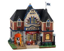 15777 - City Police Station - Lemax Caddington Village