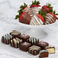 Strawberry and Cheesecake Bites