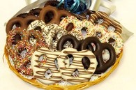 Chocolate Dipped Pretzels