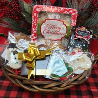 Christmas Office Basket