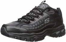 Skechers Energy After Burn Mens Sneakers Black