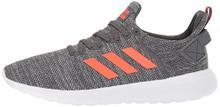 adidas Men's Lite Racer BYD Running Shoe, Grey Five/Solar red/White