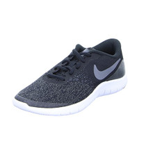 NIKE Kids Flex Contact (GS) Black Drk Gry Anthracite White