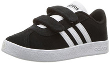 adidas Baby VL Court 2.0 CMF I, Core Black/White/White