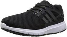 Adidas Men's Energy Cloud Wide m Running Shoe, Black/Utility Black/White