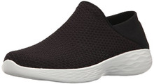 Skechers Women's You Slip-On Shoe,Black/White