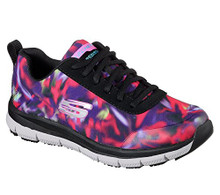 Skechers Work Relaxed Fit Comfort Flex Pro HC SR Womens Slip Resistant Sneakers Black/Multi 11