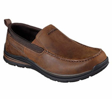 Skechers 65197 Men's Superior 2.0 - Jeveno Slip-On, Brown
