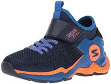 Skechers Kids Boys' Cosmic Foam II-97505L Sneaker,Navy/Blue