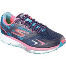 Skechers Women's GOrun Forza Running Shoe,Navy/Hot Pink