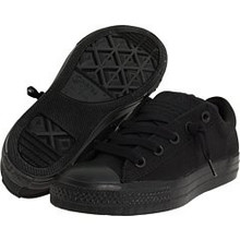 Converse Boy's Chuck Taylor All Star Street Ox Shoe, black